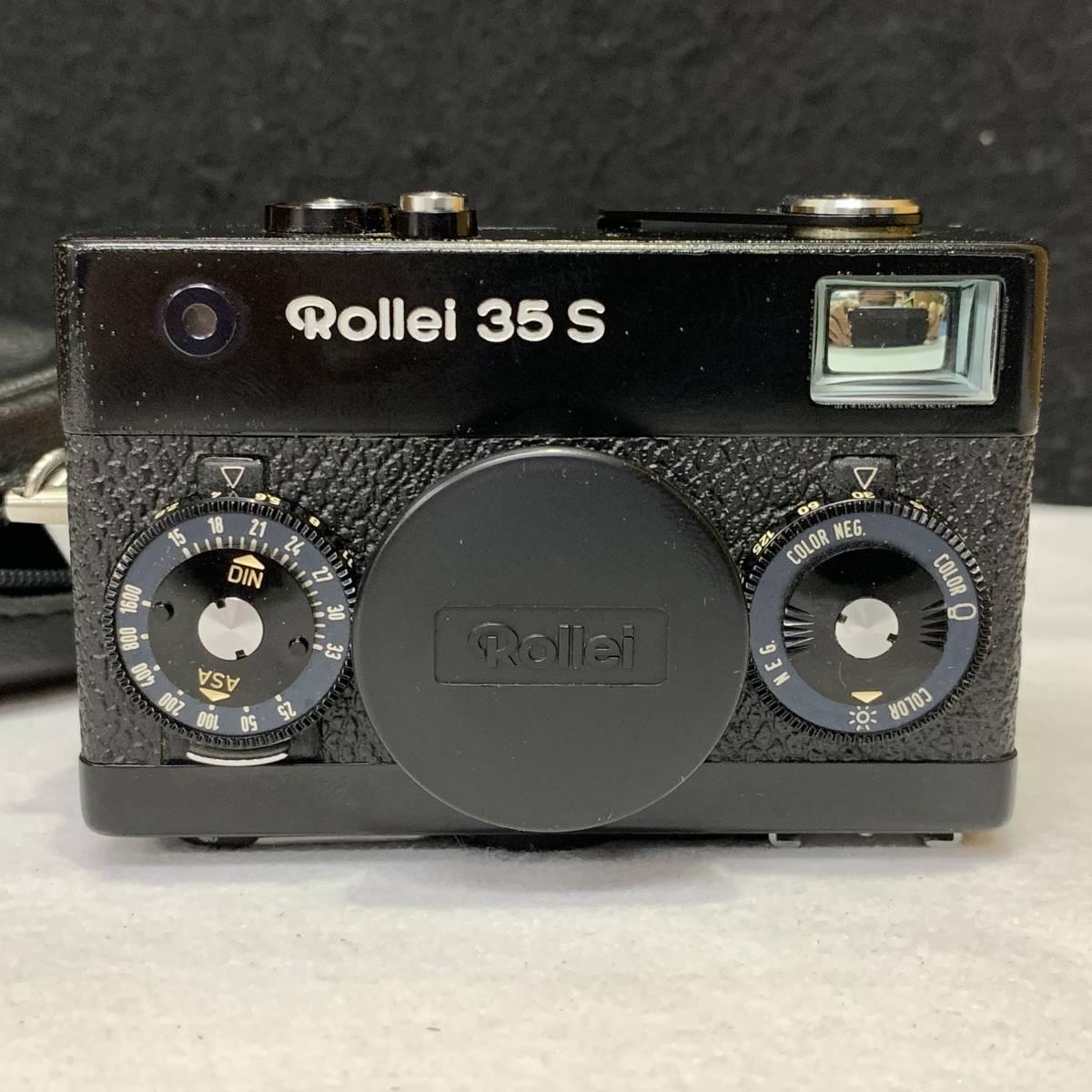 Rollei ローライ 35S BLACK Sonnar 40mm F2.8